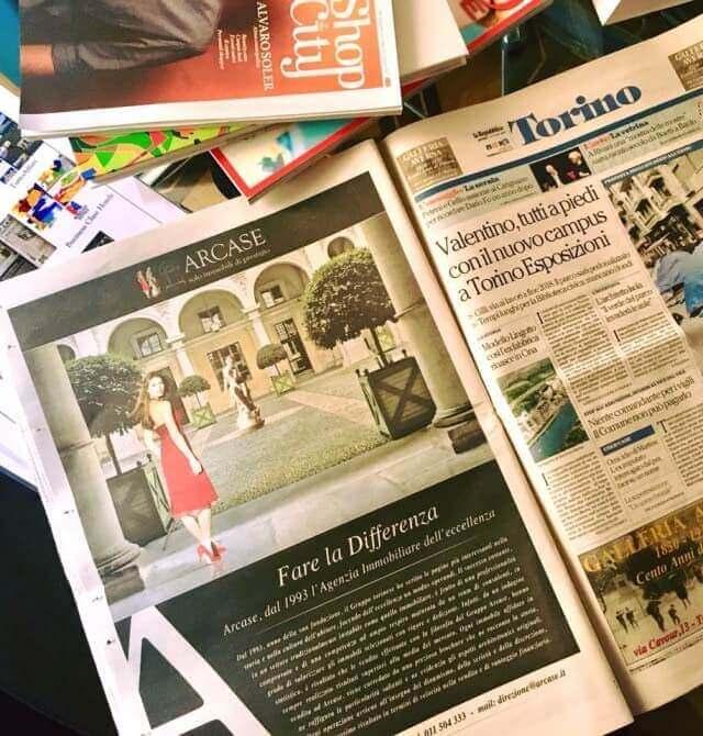 ADV su giornale di Torino