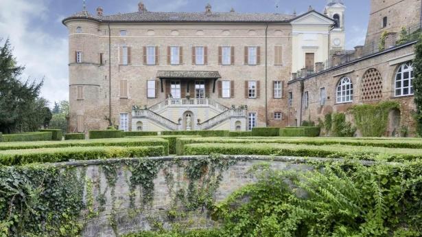 Castello di Rinco - Corpo aulico centrale - Montiglio Monferrato